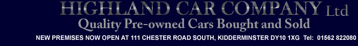 Used cars sales in bridgnorth, kidderminster, shrewsbury and telford